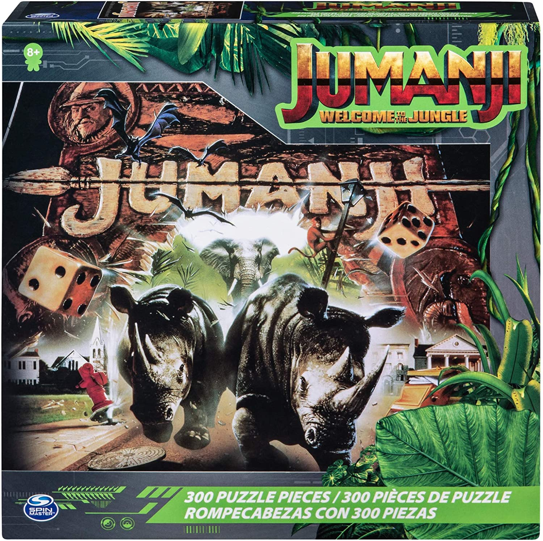 Cardinal Games Jumanji-Puzzle de 300 piezas, varios colores. (Spin Master Toys Ltd 6055051) , color/modelo surtido
