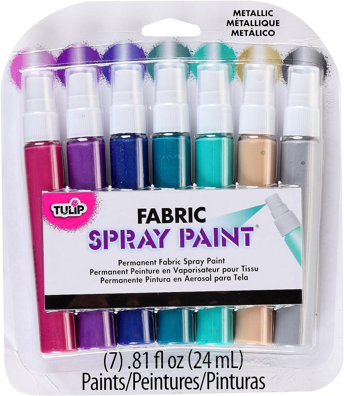 B00CUJNX8K Tulip I Love to Create Fabric Mini Spray Paint Kit-Metallic 81R7kxuWB5L