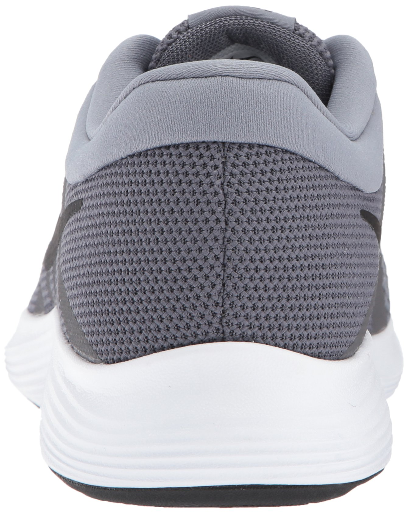 Nike Men's Revolution 4 Running Shoe, Dark Black-Cool Grey/White, 6 Regular US by Nike (Image #2)