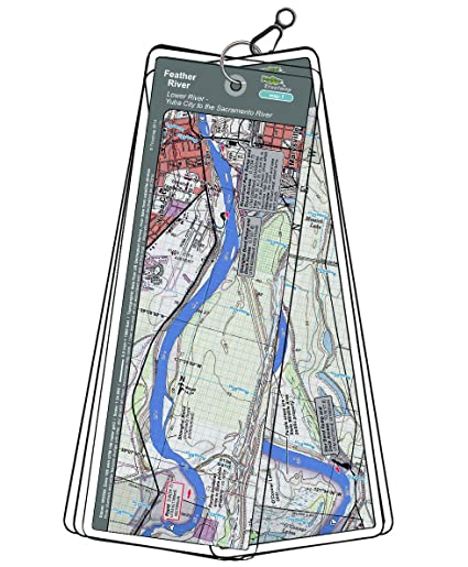 Map Of California Yuba City.Amazon Com Feather River Map Set California Yuba City To The