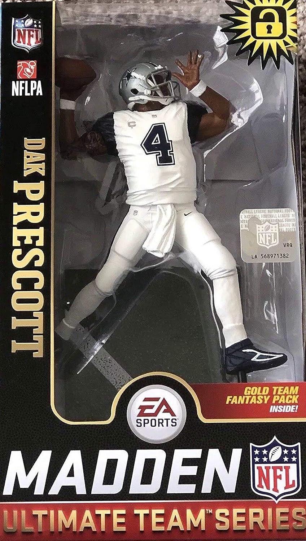 Dak Prescott Dallas Cowboys McFarlane Toys NFL Madden NFL 19 Team Series 1
