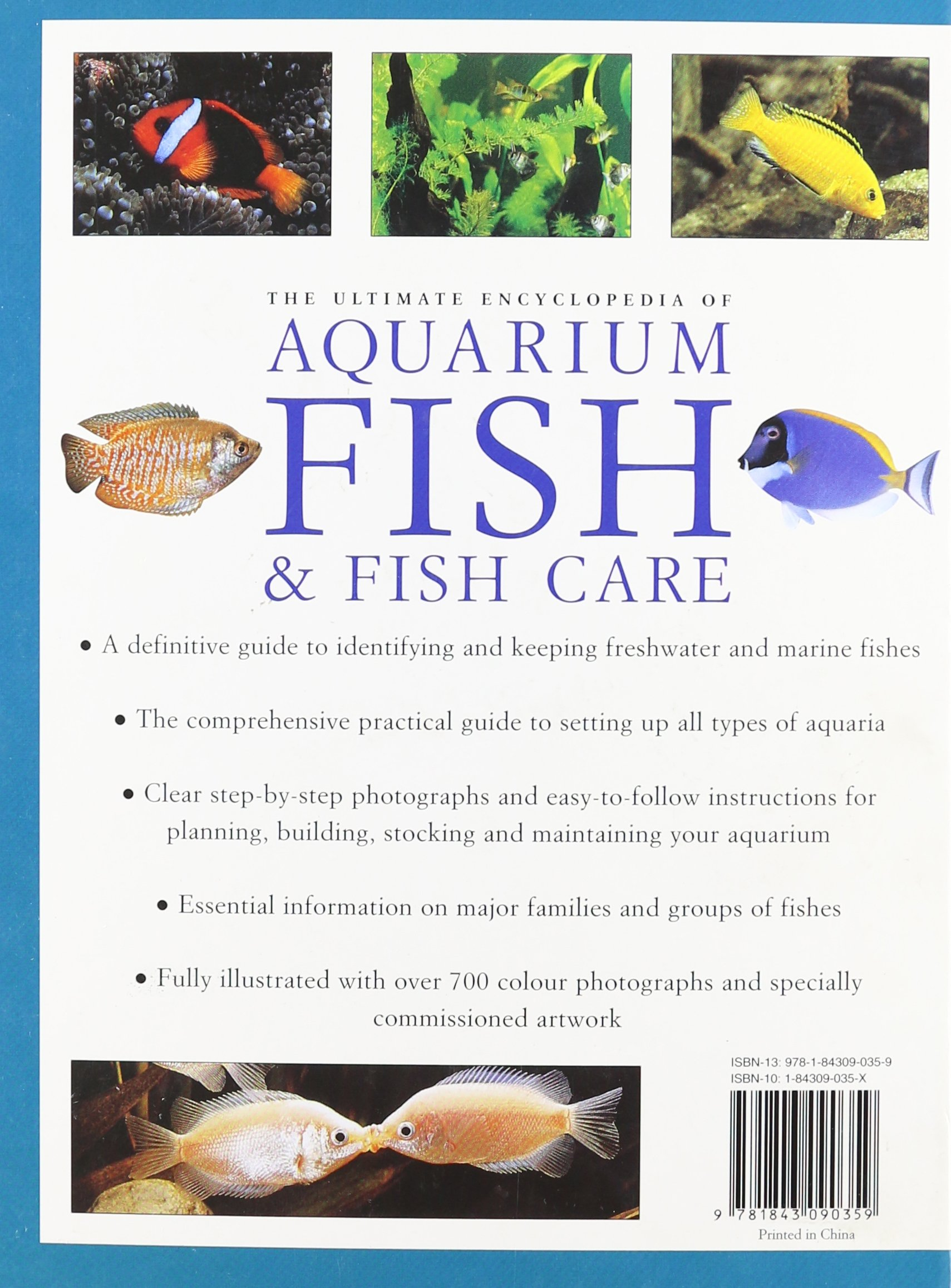 Freshwater aquarium fish guide - The Ultimate Aquarium A Definitive Guide To Identifying And Keeping Freshwater And Marine Fishes Amazon Com Books
