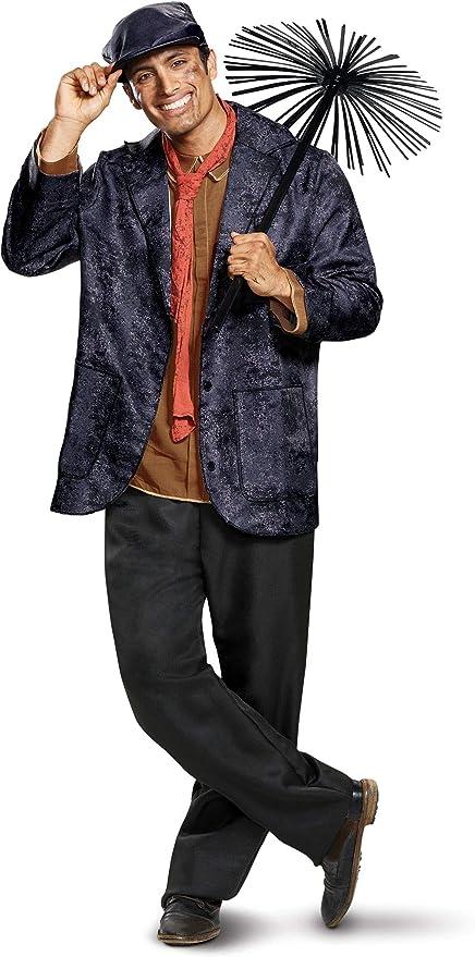 Men's 1900s Costumes: Indiana Jones, WW1 Pilot, Safari Costumes Disguise Mens Bert Deluxe Adult Costume $69.99 AT vintagedancer.com