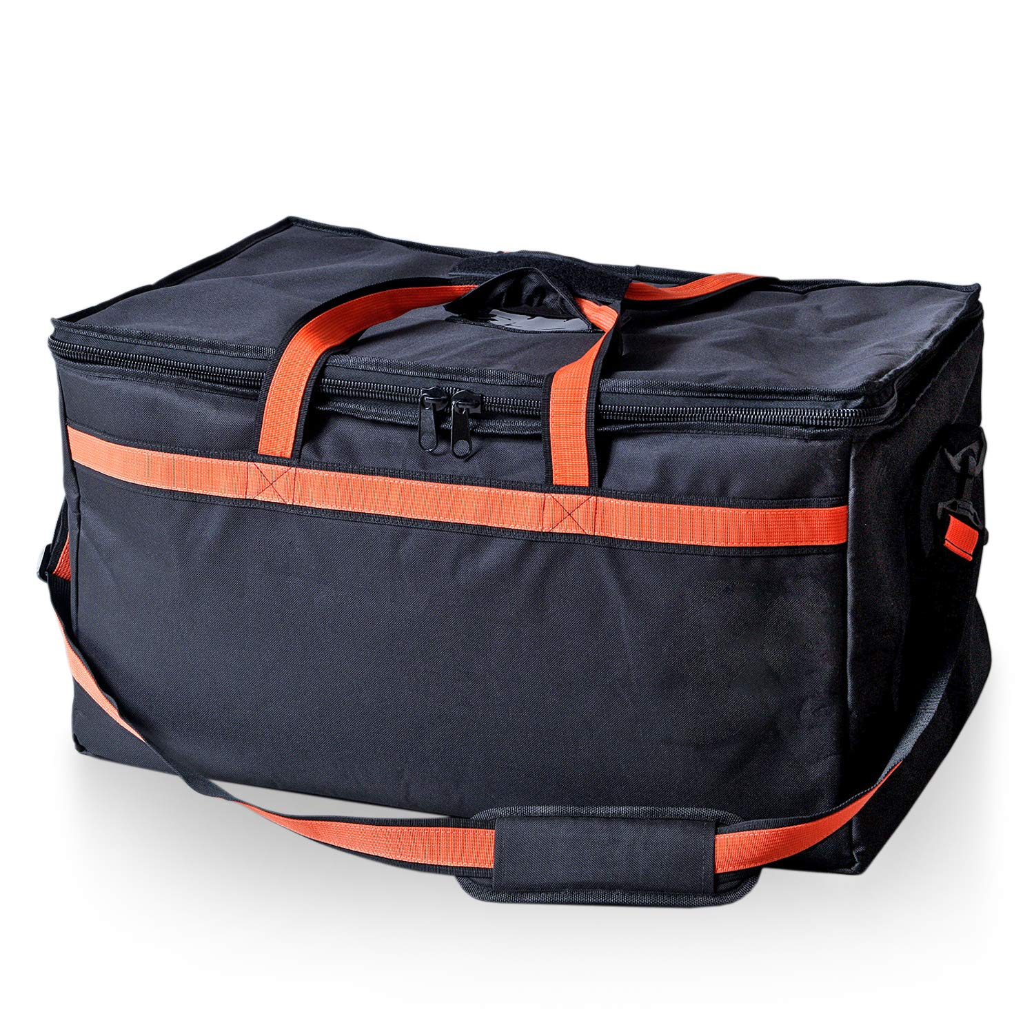 Insulated Commercial Food Delivery Bag by 365 La Kitchen | Practical Delivery Food Bag | Cold/Hot Bag for Food Delivery Services Uber Eats | Heavy Duty Zipper with Durable Comfortable Shoulder Strap