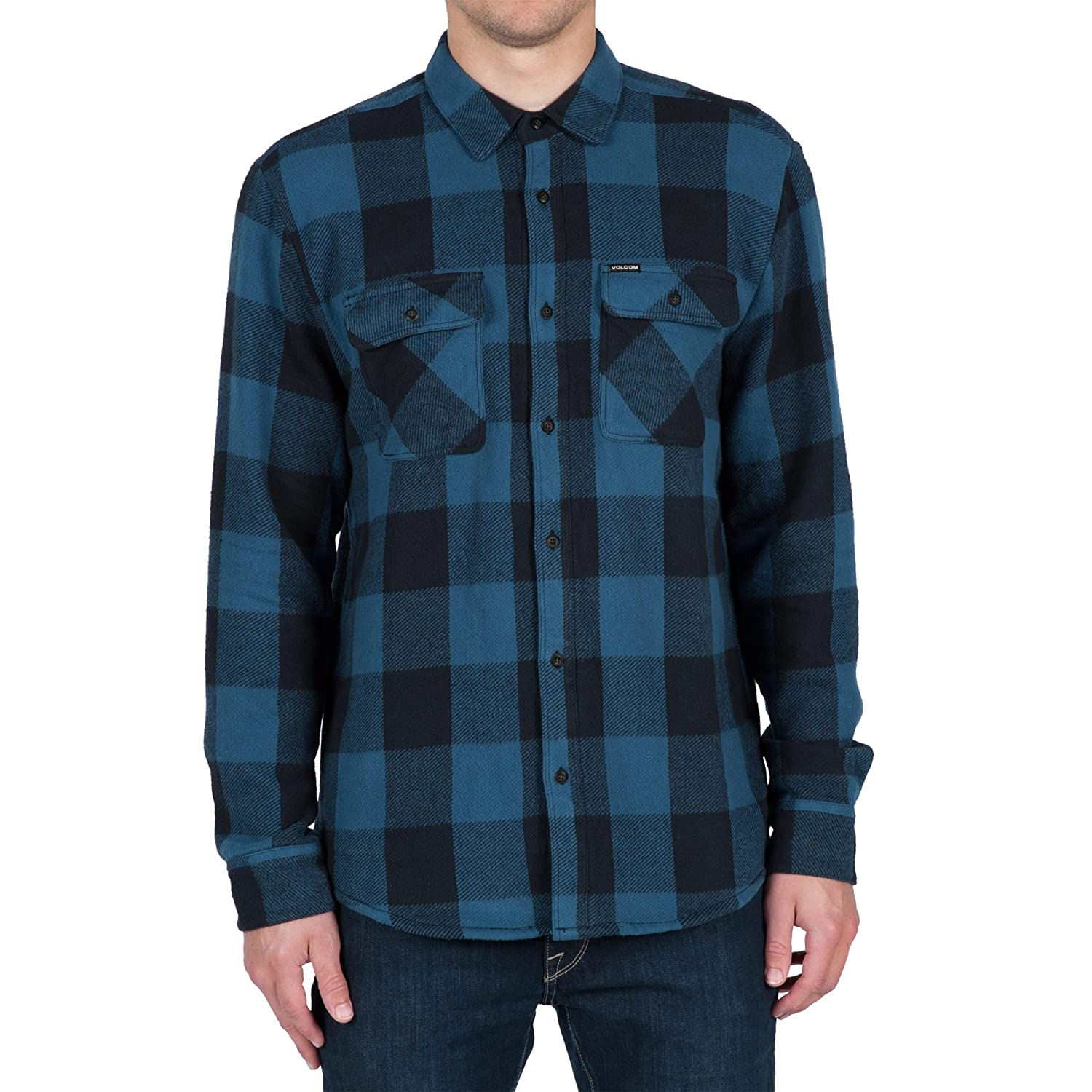 Volcom ENDERS L/S Airforce blue HOLIDAY 2016 - S US: Volcom ...