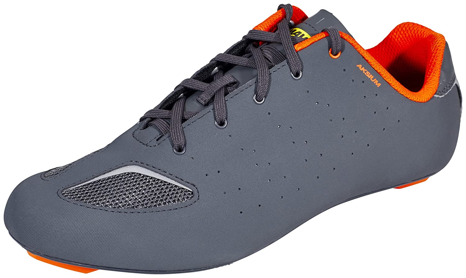 Amazon.com | Mavic Cycling Men Aksium III 3 Road Shoes Gray Orange 10.5 EUR 44 2/3 | Cycling