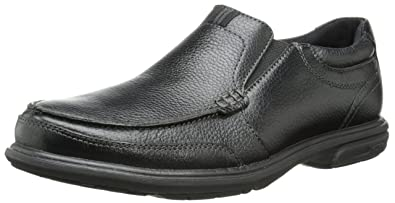 Nunn Bush Men's Carter Slip-On Loafer, Black, ...
