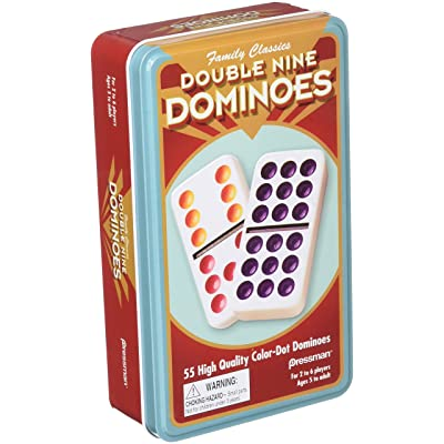 CHH Double 9 Professional Color Dot Dominos Set: Toys & Games