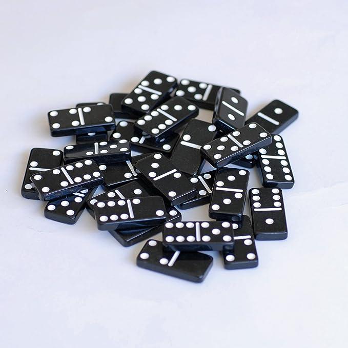 Nosotros Juegos 10-Games-in-1 combinación Set en una Caja de Madera con corredera lidcribbage, Doble 6 dominó, Tarjetas, Dados de Madera: Amazon.es: Juguetes y juegos