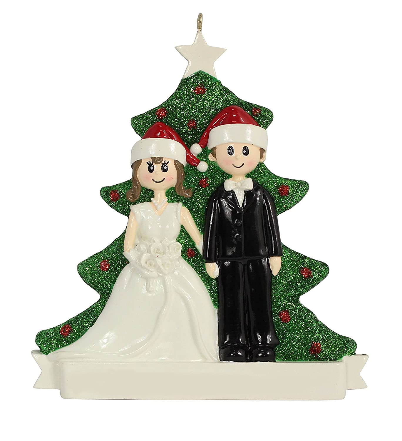 Amazon.com: Wedding Couple Ornament: Home & Kitchen