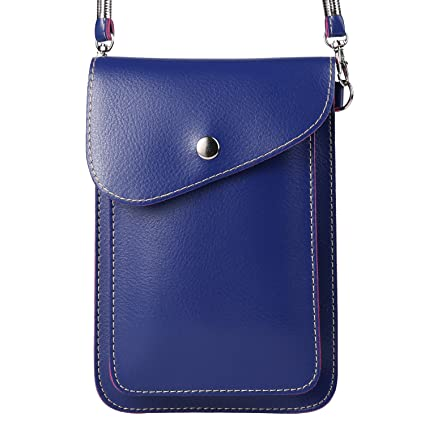7f9c70fc1bd1 ZZJ Women's PU Leather Wallet Case Purse w/ Shoulder Strap for Apple iPhone  7 Plus / 7 / HTC 10 / One A9s / Huawei Nova 2 Plus / Honor 9 / P10 / P10 ...