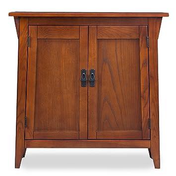 Amazon.com: Leick muebles Russet misión salón soporte ...
