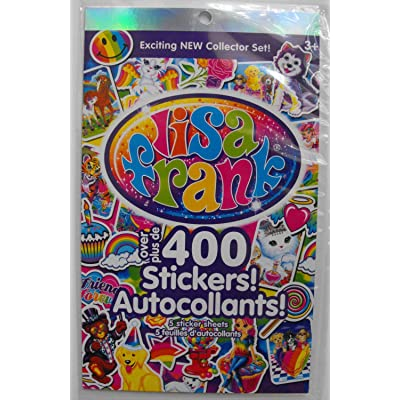 Lisa Frank Exciting New Collector Sticker Set.: Toys & Games