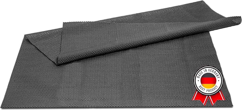 Premfix 100x80cm Antirutschmatte Zuschneidbar I Universal Antirutschunterlage Für Teppich Auto Und Schubladen I Anti Rutsch Matte Kofferraummatte Auto