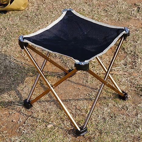 Amazon.com : Outdoor Picnic Stool Chair Seat Triangular Portable ...