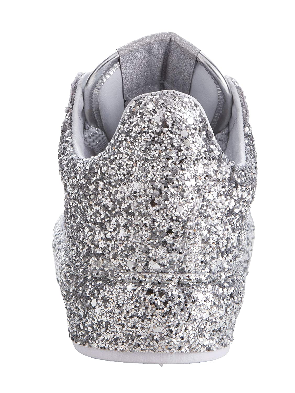 KLiNGEL Damen Damen Damen PlateauTurnschuhe aus funkelndem Glitter-Material 40 d9d6cc