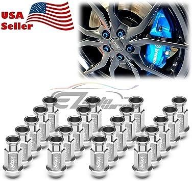 USA Don/'t Tread 2 Black Billet Aluminum Knurled Tire Valve Caps