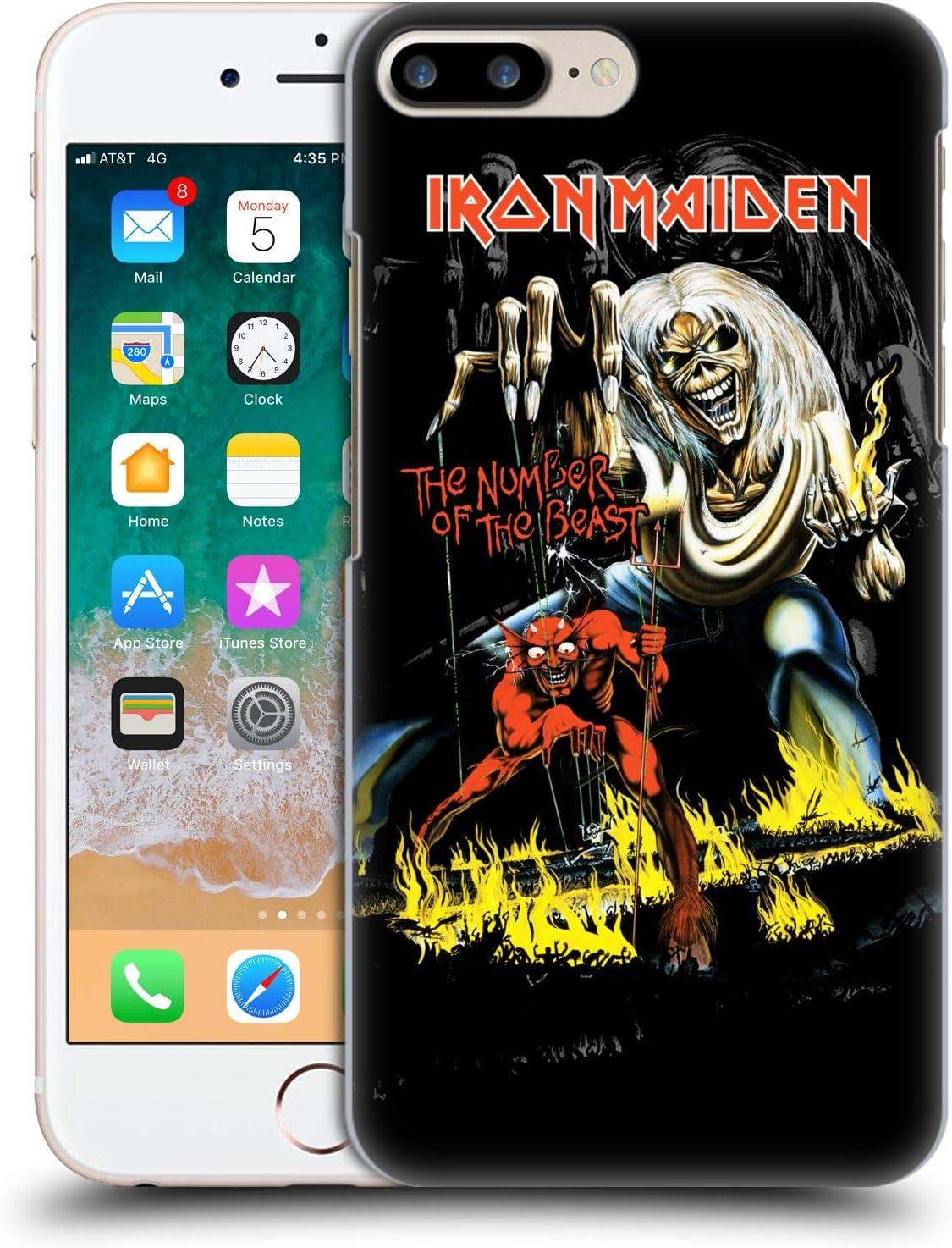 Head Case Designs sous Licence Officielle Iron Maiden NOTB Couvertures D'Album Coque Dure pour l'arrière Compatible avec Apple iPhone 7 Plus/iPhone 8 ...