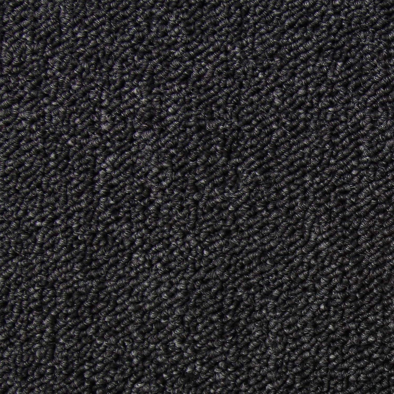 Kohle-Schwarz 20 St/ück Teppichfliesen Bodenfliesen Teppich 50 x 50 cm Gesamtfl/äche 5 m/²