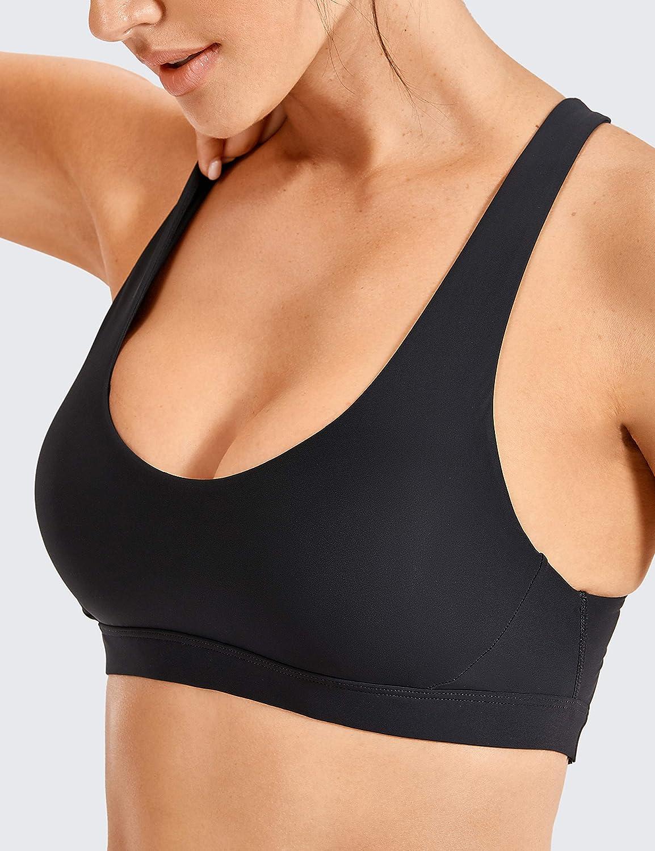 Haut de Bikini sans Manches CRZ YOGA Femme Bikini Maillots de Bain UPF50