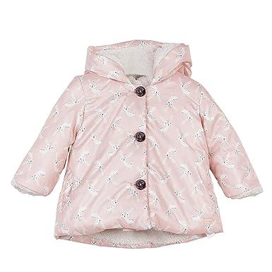 07df984b201ad Catimini Manteau Imprime Rose (Poudre), 3 Ans (Taille Fabricant: 3A) Bébé  Fille: Amazon.fr: Vêtements et accessoires