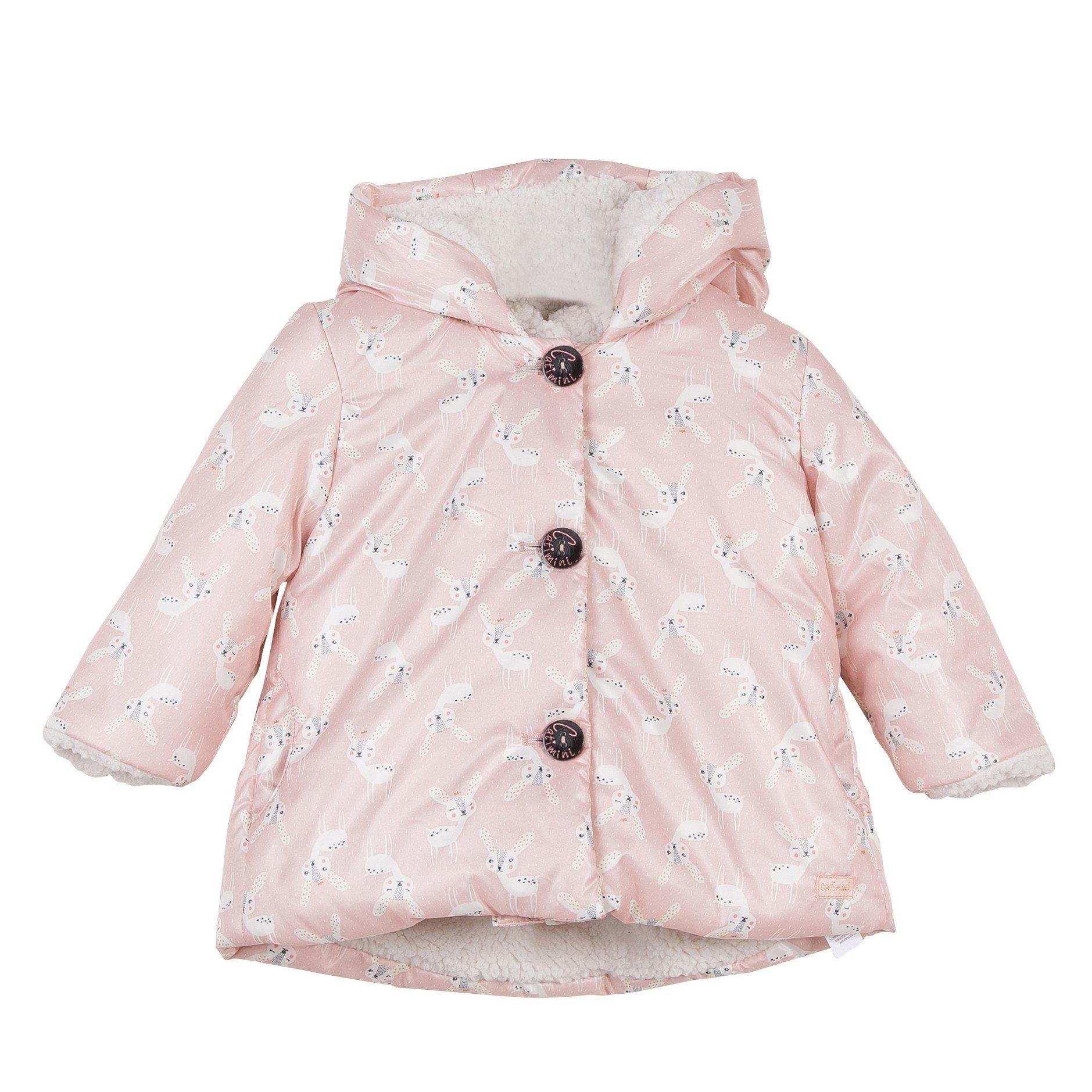 Catimini Hooded Printed Jacket (2Y)