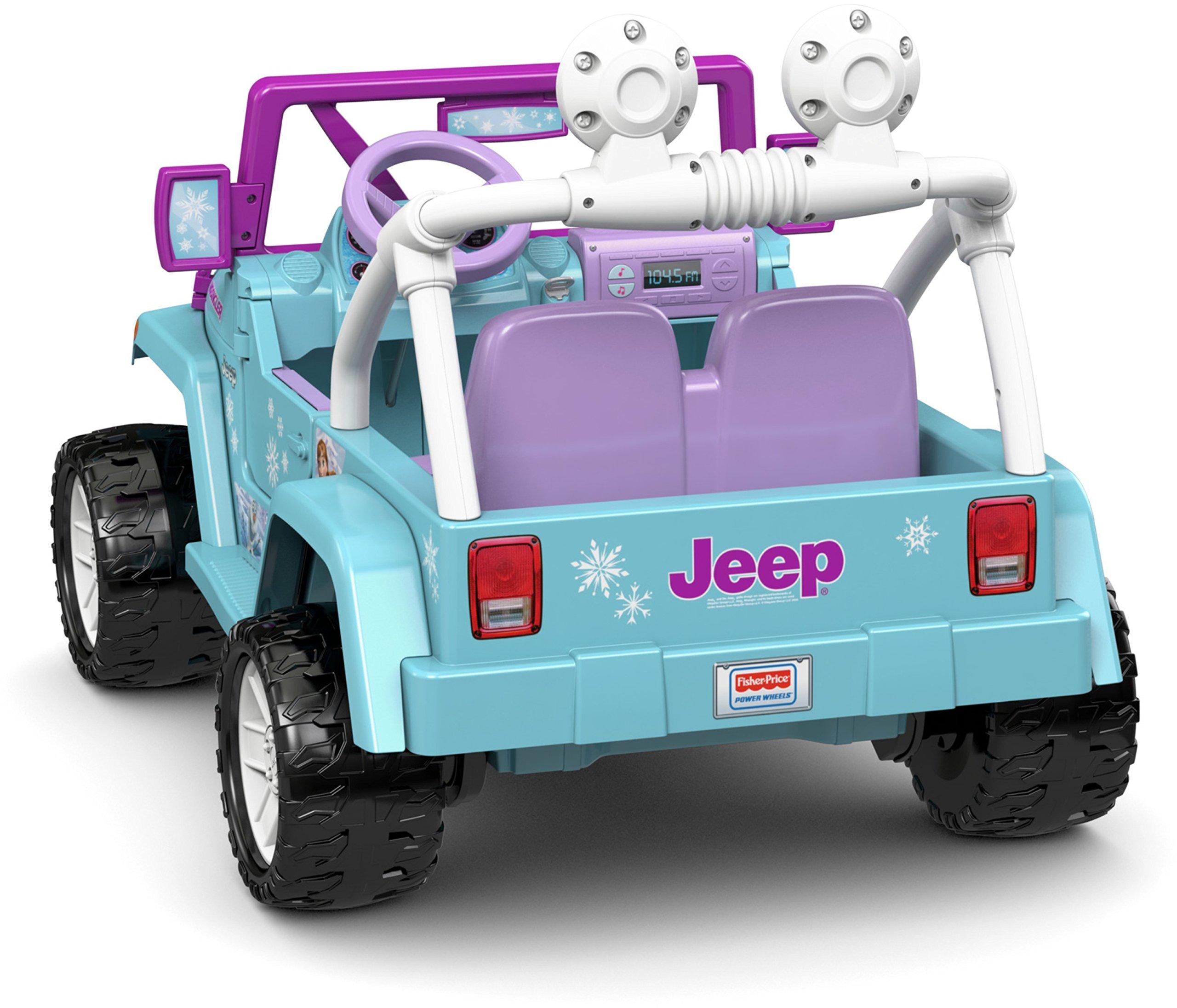 Power Wheels Disney Frozen Jeep Wrangler by Fisher-Price (Image #9)