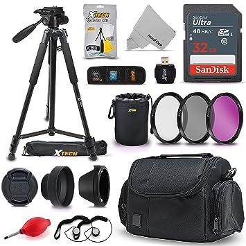 Amazon.com: Kit de accesorios Pro 2.165 in para cámara Nikon ...