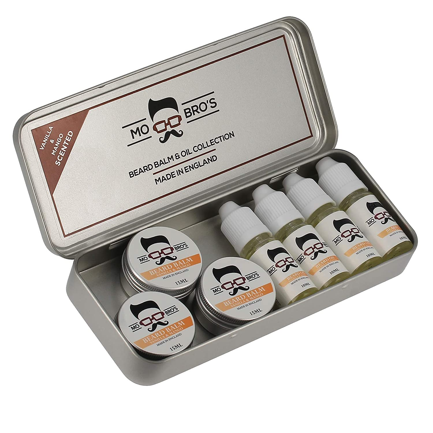 Mo Bro's Beard Balm & Oil Kit (Summer Spice) Mo Bro's