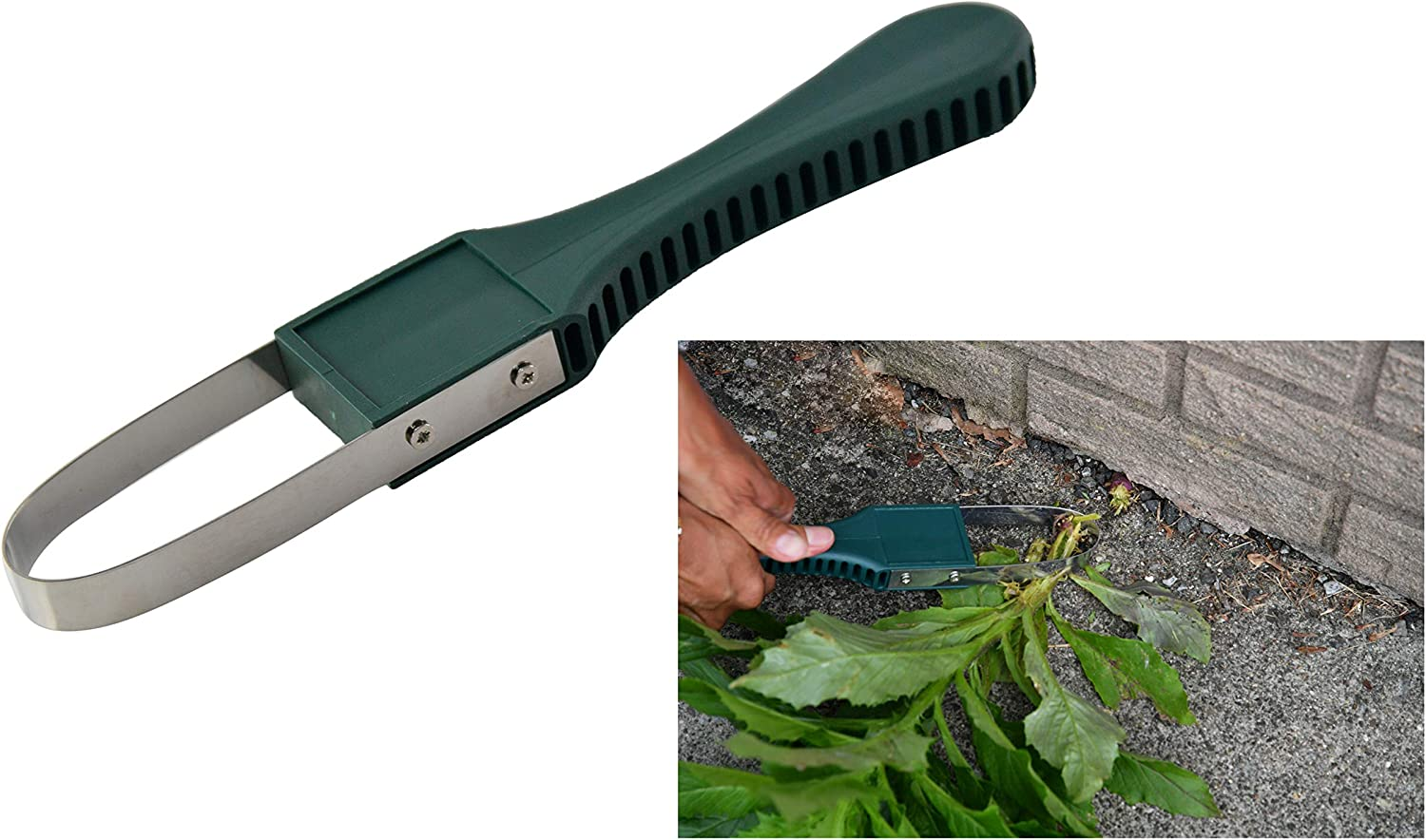 Home-X Weeding Tool for Gardening and Yard Work, Weed Cutter/Remover, Garden Accessory