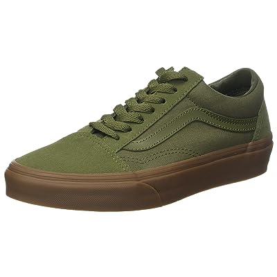 Vans Unisex Adults' Old Skool¿, (Suede/Canvas) Winter Moss/Gum, 9 Women / 7.5 Men M US | Fashion Sneakers