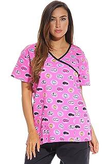 6755bbd6404 Amazon.com: Just Love Women's Scrub Tops Scrubs Nursing Scrubs: Clothing
