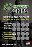 Monster Grips - The Ultimate Grip for Guitar Picks and More!
