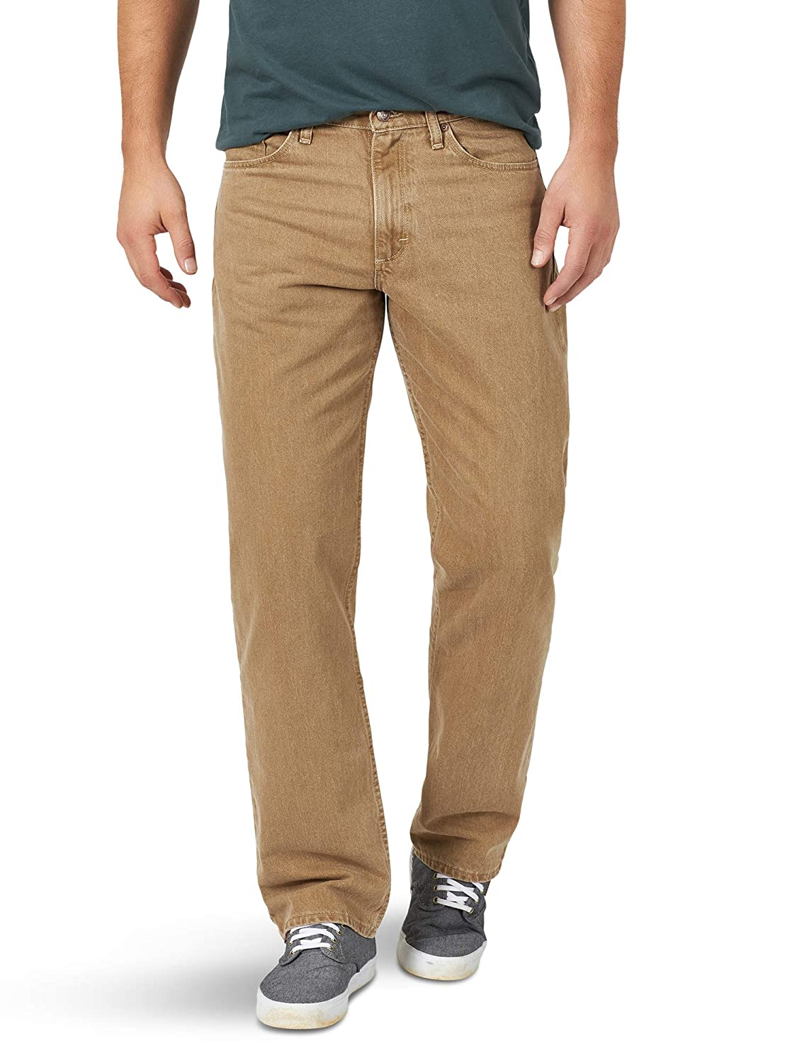Wrangler Mens Big and Tall Authentics Relaxed Fit Jean-Cotton