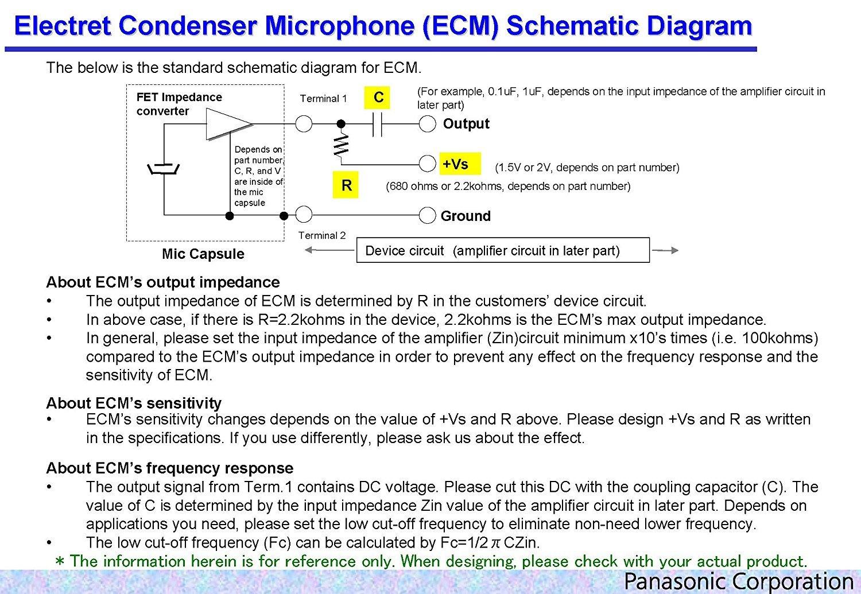 2 Wm 61 A Omnidirektionale Elektret Kondensator Mikrofonkapsel Amp Condenser Microphone Circuit Electronic Schematic Diagram Kapsel Beleuchtung
