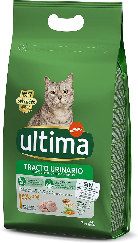 Ultima Pienso para Gatos Problemas del Tracto Urinario - 3 kg ...