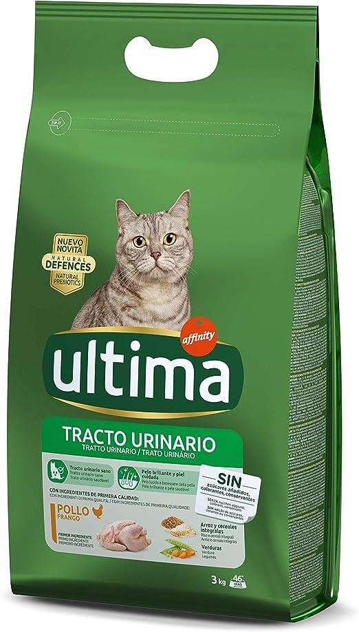 Ultima Pienso para Gatos Problemas del Tracto Urinario - 3 kg: Amazon.es: Productos para mascotas