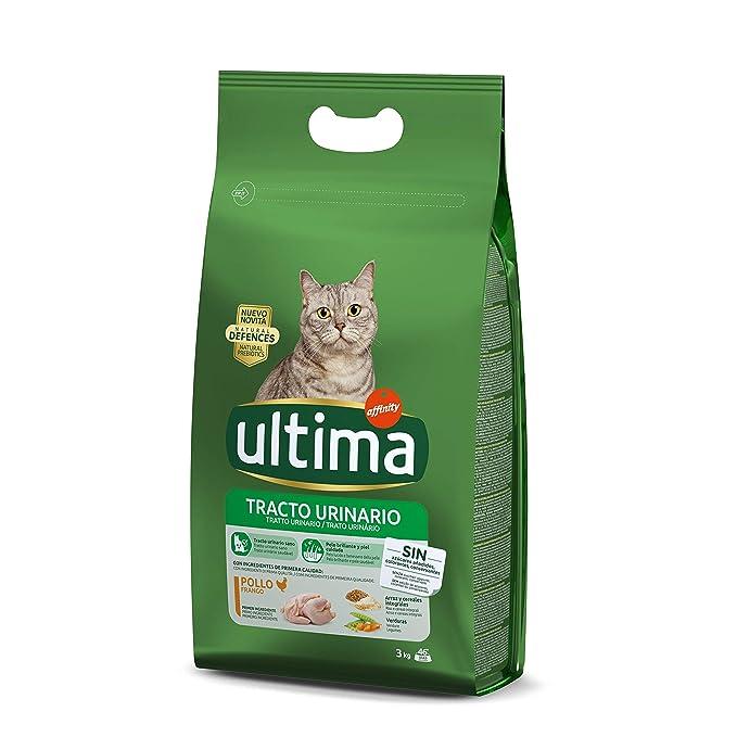 Ultima Pienso para Gatos para prevenir problemas del Tracto ...