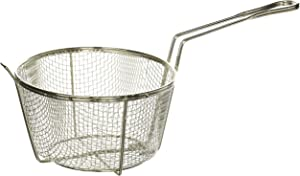 Winco Steel Round Wire Fry Basket, 8-Inch