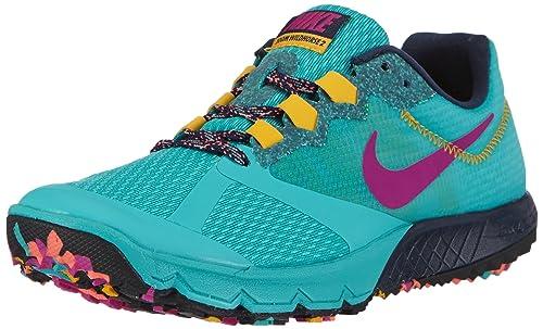 2ac3ac326ed Nike Women s WMNS Air Vapormax 2019 Running Shoes Blue - Blau (Lt  Retro Fuchsia