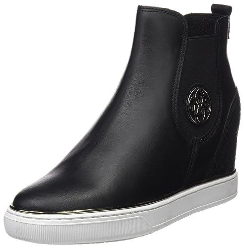Guess Footwear Active Lady, Zapatillas para Mujer, Negro (Black Black), 39 EU