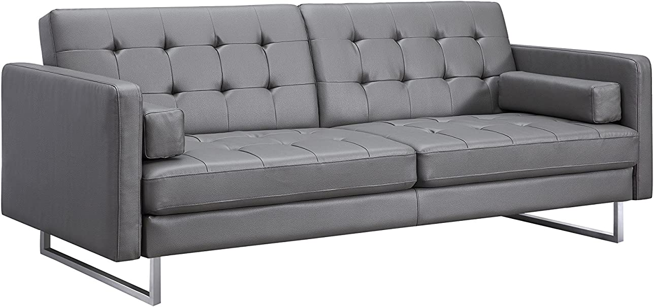 Amazon.com: World Mod Modern Giovanni Sofa Bed, 87Lx36Wx35H ...