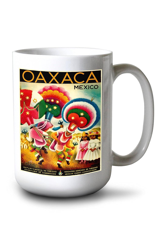 オアハカヴィンテージポスター(アーティスト:ミゲルコバルビアス)メキシコC。1941 9 x 12 Art LANT-65997-9x12 Print Art LANT-65997-9x12 B01B42H0AK 15oz 15oz Mug 15oz Mug, ワットマン:2de0440d --- rdtrivselbridge.se