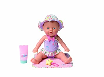 12175a4c2cec3c Zapf Creation 811382 - my little BABY born® Wasserplansch Baby ...