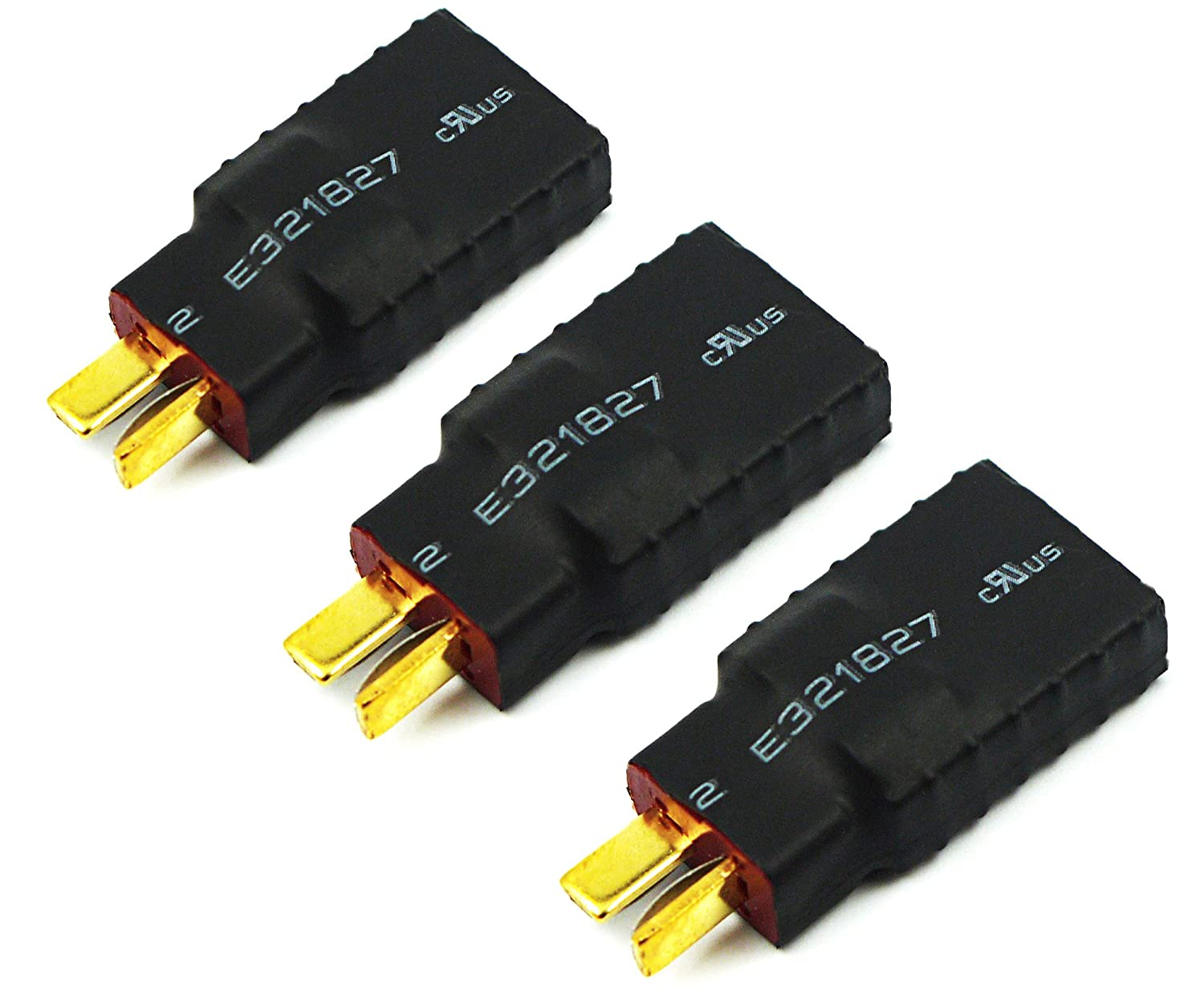 Amazon.com: Readytosky T-Plug Deans Male to Traxxa Female Connector ...