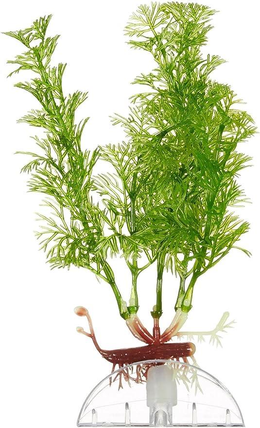 Amazon Com Aquarium Industrial Deep Blue 894509 6 Cabomba Aqua Flora Plastic Plant Aquarium Filters Pet Supplies