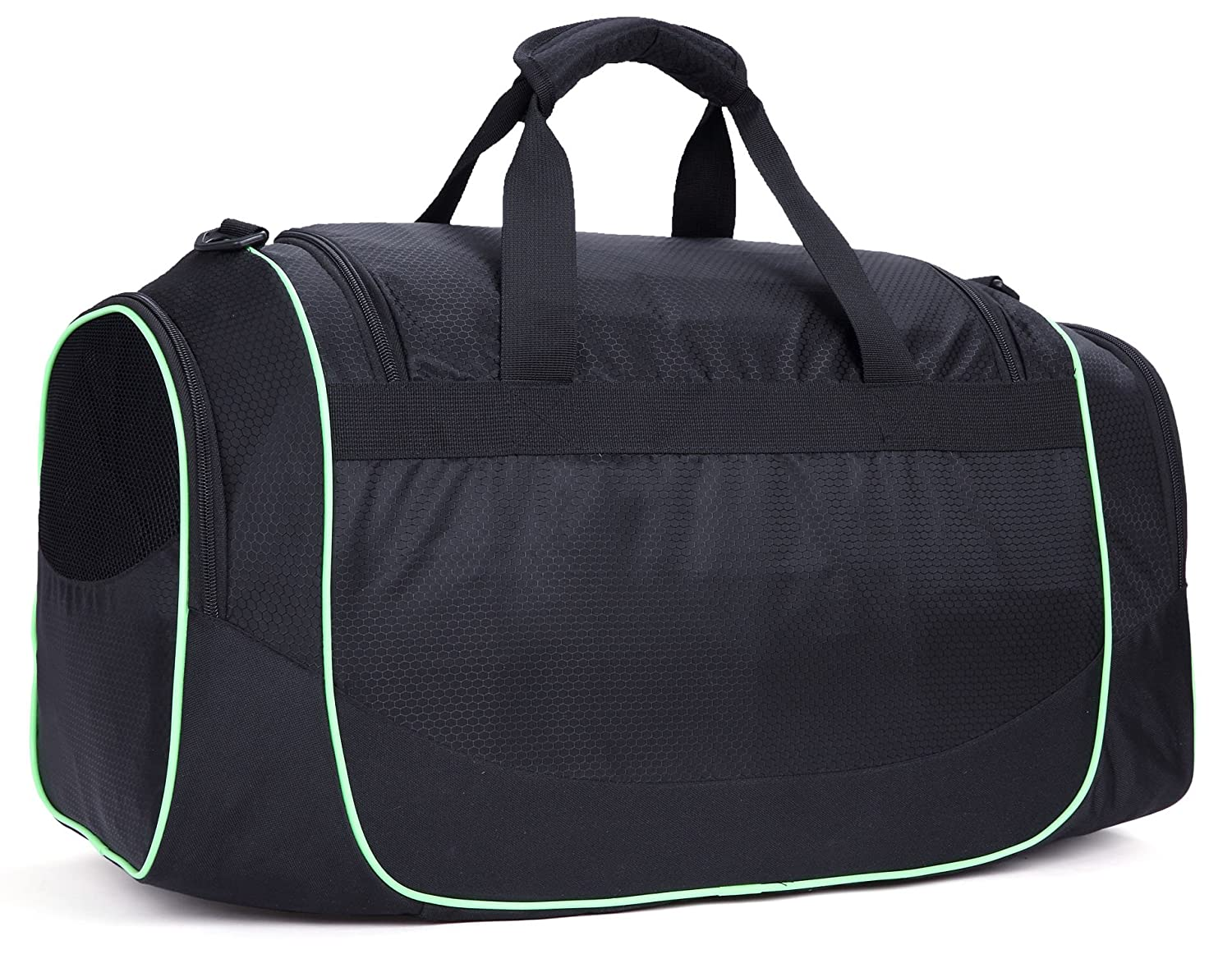 MIER Men s Gym Bag with Shoe Compartment Sports Duffel Holdall Bag, 50L,  Black  Amazon.co.uk  Sports   Outdoors bfed58876d