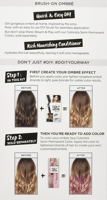 Amazon loral paris colorista bleach ombre beauty solutioingenieria Choice Image