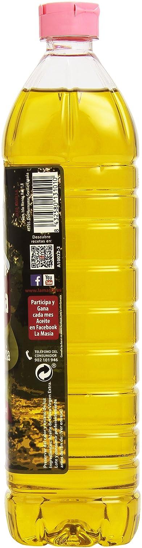 La Masia - Excelencia - Aceite de Oliva Virgen Extra - 1 L: Amazon.es: Alimentación y bebidas