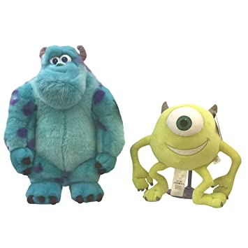 e0f4fe3f544 Price Toys Sulley and Mike Disney Soft Toy Set – Medium Monster University  Plush teddy (